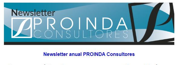 newsletter anual Proinda consultores
